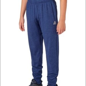 Reebok Boys' Jersey Pants, Size:(12-14) Blue